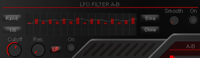 lfo filter in wt-01 red