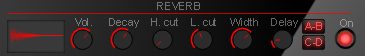 reverb in wt-01 red